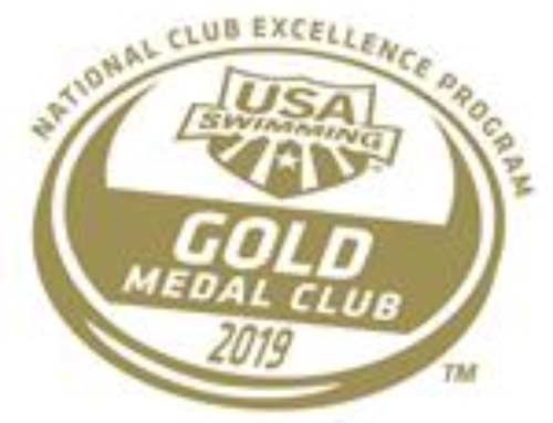 NAC Named 2019 USA Swimming Gold Medal Club